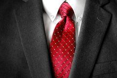 Business Suit White Shirt Red Tie Formal Wear Fashion Stock Photography