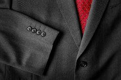 Business Suit White Shirt Red Tie Formal Wear Fashion Royalty Free Stock Photography