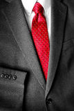 Business Suit White Shirt Red Tie Formal Wear Fashion Stock Images