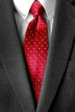 Business Suit White Shirt Red Tie Formal Wear Fashion Stock Image