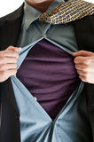 Business super man Stock Photo