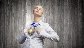 Business super power Royalty Free Stock Photos