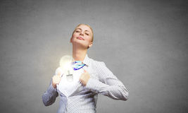 Business super power Royalty Free Stock Photo
