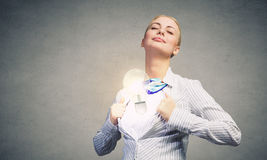 Business super power Stock Photography