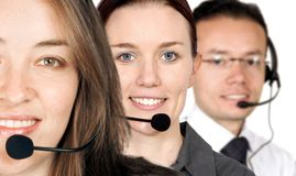 Business support team Stock Photo