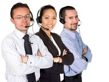 Business support team Royalty Free Stock Photo