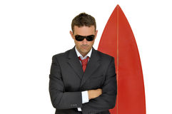 Business surfer Stock Photography