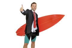 Business surfer Stock Images