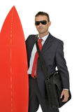 Business surfer Royalty Free Stock Photography