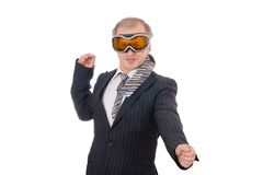The business surfing Royalty Free Stock Photo