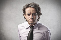 Business Suspect royalty free stock photography