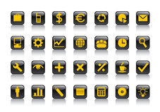 Business symbols Stock Image