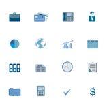 Business Symbols Icon Set Royalty Free Stock Image
