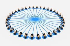 Business Symbols, Sharing data Stock Photography