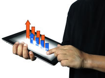 Business tablet Stock Images