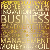 Business Tag cloud Stock Photos