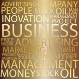 Business Tag cloud Stock Photos