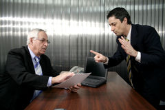 Business talk. In office Royalty Free Stock Photos