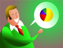 Business talk Royalty Free Stock Photography