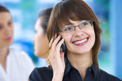 Business talk Stock Photography