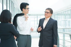Business talk Royalty Free Stock Images