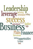 Business talk word cloud. Business talk vertical word cloud Stock Image