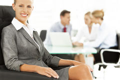 Business Talks Stock Photography