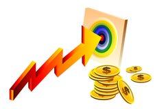 Business target Royalty Free Stock Photos