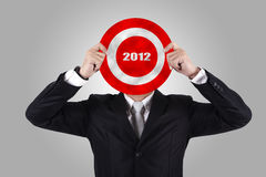 Business Target 2012 Royalty Free Stock Photography