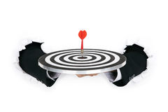 Business target Stock Image
