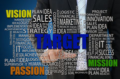 Business Target Concept Royalty Free Stock Photography
