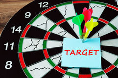 Business target concept Royalty Free Stock Image