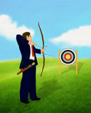 Business Target Concept Stock Photo