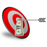 Business target design Royalty Free Stock Photo