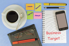 Business Target Royalty Free Stock Images
