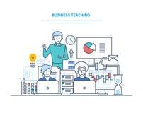 Business teaching. Professional business trainings, seminars, corporate training, consulting. Business teaching. Professional business trainings, seminars Stock Photos