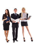The business team Stock Photo