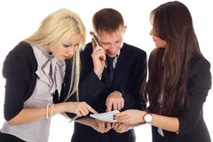 The business team Stock Image