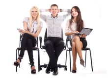 The business team Royalty Free Stock Images