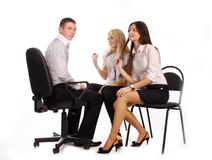 The business team Stock Photography