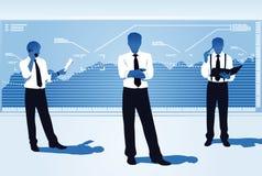 Business team. Stock market team leader Stock Photo