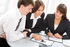 Business team Royalty Free Stock Image