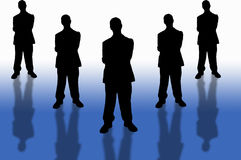 Business team-2 Royalty Free Stock Photo