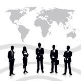 Business Team. Easy to edit vector illustration of business team royalty free illustration