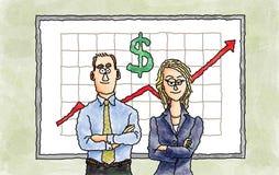 Business team royalty free illustration