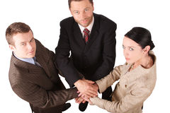 Business team 4 -isolated Royalty Free Stock Photo