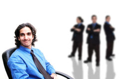 Business team-5 royalty free stock photography
