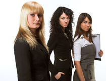 A business team Royalty Free Stock Image