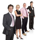 Business team. Group of businesspeople standing Royalty Free Stock Photo