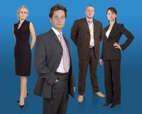 Business team. Group of businesspeople standing Royalty Free Stock Images